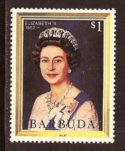 Barbuda  #  625  Mint  N H.       A
