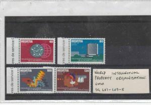 switzerland mnh stamps  Ref 9372