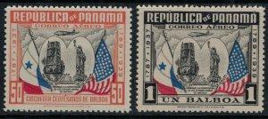 Panama #C52-3*  CV $16.00
