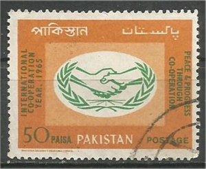 PAKISTAN, 1965,  used 50p, ICY. Scott 216