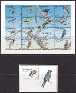 Georgia, Fauna, Birds MNH / 1996