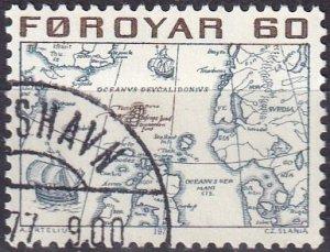 Faroe Islands #10 F-VF Used  (V4886)