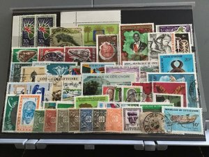 Ivory Coast   stamps  R24581