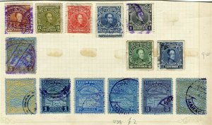 VENEZUELA; 1900s early classic issues small mixed USED LOT