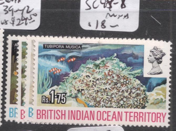 British Indian Ocean Territory SC 44-7 MNH (9dhy)
