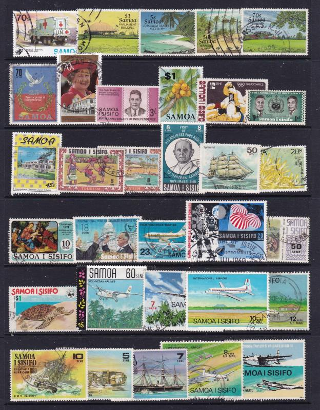 Samoa a small used lot post Independence
