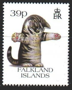 Falkland Islands. 1993. 601 from the series. Domestic cats. MNH.