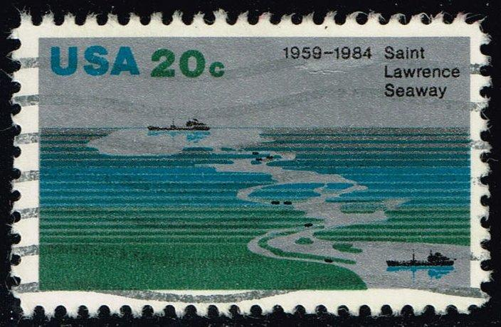 US #2091 St. Lawrence Seaway; Used (0.25)
