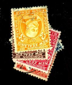 New Zealand #135-9 Used F-VF Cat$30