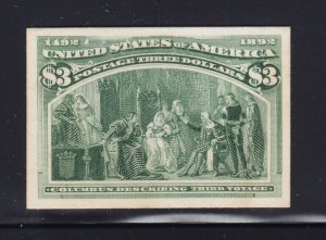 243 P4 VF-XF unused card proof with nice color ! see pic !