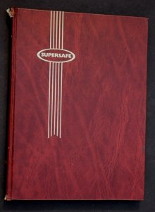 Worldwide Old Stamp Collection in Supersafe Stock Book Album 894 Used Stamps