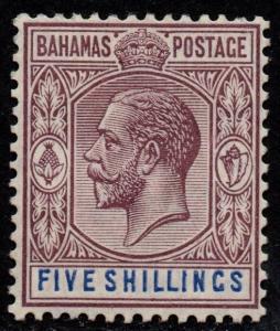 $Bahamas Sc#55 M/LH/F-VF+, Cv. $50