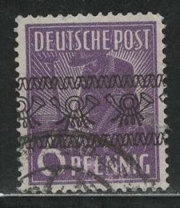 Germany AM Post Scott # 601, used