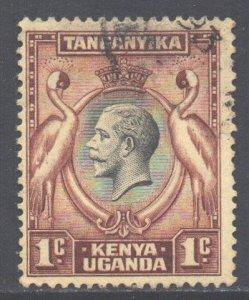 KUT Scott 46 - SG110, 1935 George V 1c used