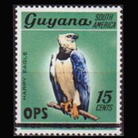 GUYANA 1981 - Scott# O2 Eagle 15c NH
