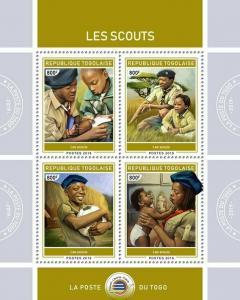 Z08 TG190132a TOGO 2019 Scouts MNH ** Postfrisch