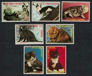 Eq. Guinea Cats and Kittens 7v issue 2