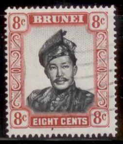 Brunei 1952 SC# 88 Used  L394