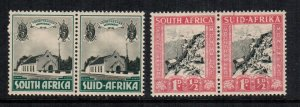 South Africa  b1 - b2  MNH cat $ 18.25 111