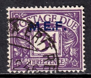 Great Britain (Middle East Forces) - Scott #J4 - Used - SCV $4.75