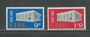Ireland Scott catalogue #270-271 Mint NH