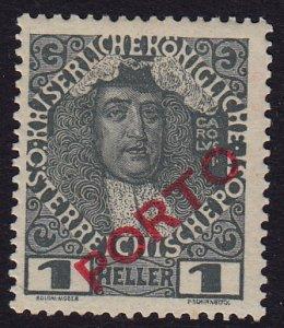 Austria - 1916 - Scott #J47 - MNH - Overprint