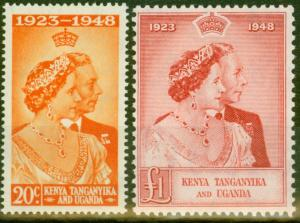 KUT 1948 RSW set of 2 SG157-158 Fine & Fresh Mtd Mint