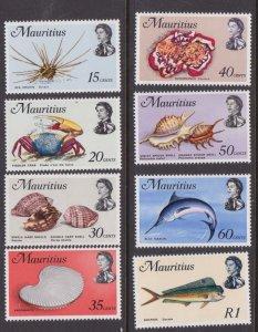 Mauritius #344b//354b MNH/MLH
