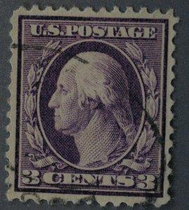 United States #376 3 Cent Washington Used