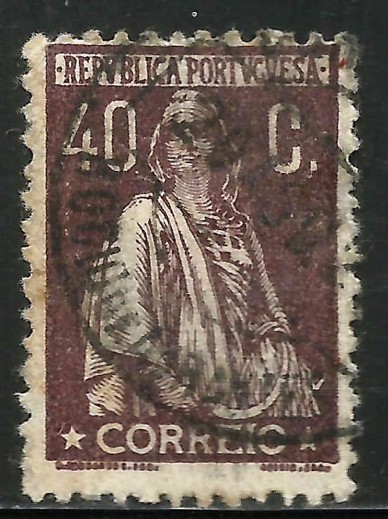 Portugal 1924 Scott# 292 Used.