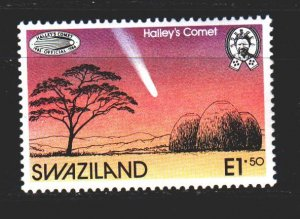 Swaziland. 1986. 498. Comet Halley, space. MNH.