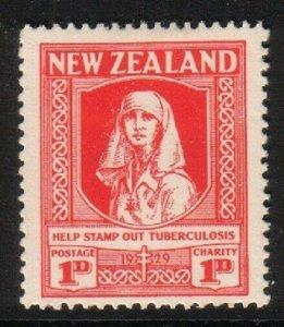 NEW ZEALAND 1929 Health Nurse fine mint hinged..............................1446