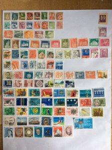 Switzerland 100+ stamps - Lot G