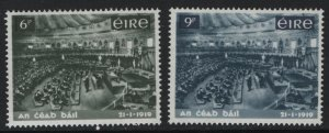 IRELAND 268-269 MNH FIRST MEETING OF THE IRISH PARLIAMENT SET