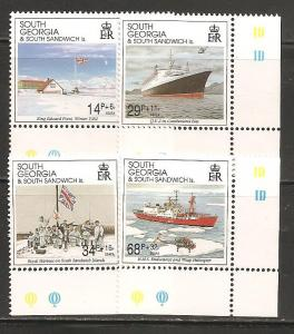 South Georgia SC B1-4 MNH