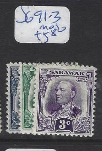 SARAWAK (PP2307B)   1C-3C  SG 91-3   MOG