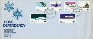 ROSS DEPENDENCY 1972 DEFINITIVE  FIRST DAY COVER