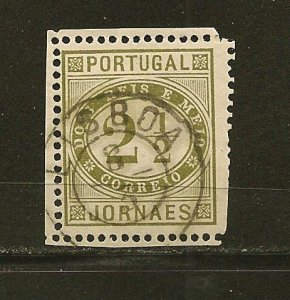 Portugal P2 Newspaper Stamp Used