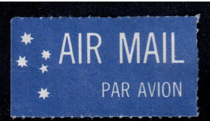 Australia Air Mail Label , Etiquette , F-VF used - I Combine S/H