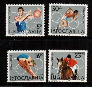 Yugoslavia  1680 - 1683  MNH  $ 3.65