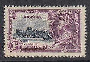 NIGERIA, Scott 37, mint with adhesion