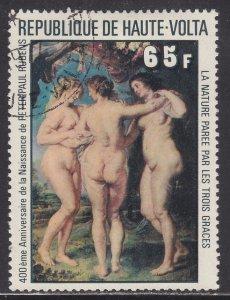 Burkina Faso 447 Peter Paul Rubens Paintings 1977