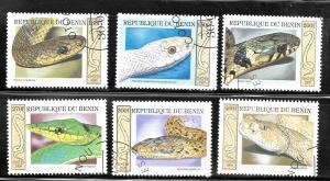 Benin 1999 SC# 1170-1175