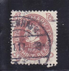 Denmark  Scott#  218  Used
