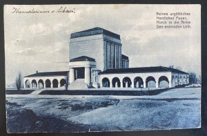1923 Czechoslovakia RPPC Postcard Cover To Muchenberg Palace View