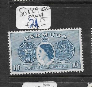 BERMUDA   (PP1905B)  QEII  10/-  SG 149  MNH