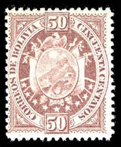 BOLIVIA 45  Mint (ID # 77370)