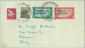 83402 - NEW ZEALAND  - Postal History - COVER to ITALY - 1955