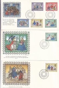 1979, Great Britain: Christmas Manger Scenes, Grp 6, FDC (S18792)