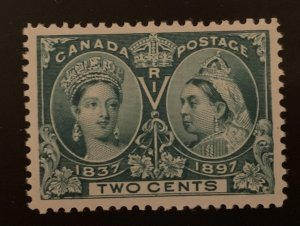 Canada #52 XF Mint NH Jubilee - The ultimate Perfection